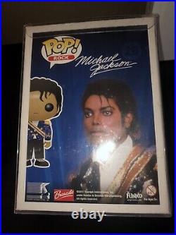 100% Authentic Michael Jackson Pop Vinyl Extremely Rare Funko Grammy Costume