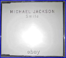 100% Original RARE Promo Maxi CD Smile Michael Jackson Promotion Epic SAMPCS