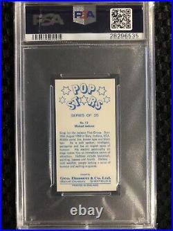 1974 GEO BASSETT & CO. MICHAEL JACKSON POP STARS PSA 9 Pop. 10 RARE MUSIC CARD