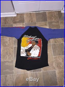 1984 Victory Tour Michael Jackson THRILLER jersey t-shirt RARE medium
