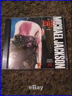 1988 Michael Jackson The Bad Mixes 9-Track Promo Special Radio CD VERY RARE! N/M