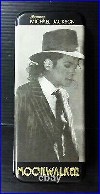 1988 Moon Walk Michael Jackson King Of Pop Japan Towa Sp Pencil Box Mega Rare