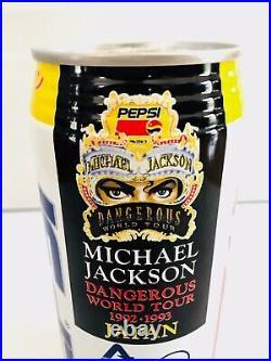 1992 Vintage Rare Unopened Can Pepsi Michael Jackson