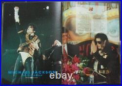 1993 MICHAEL JACKSON The Dangerous World Tour BANGKOK THAI SP Book MEGA RARE
