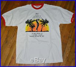 1997 MICHAEL JACKSON vtg rare hip-hop r&b concert tour tee t-shirt (XL) HAWAII