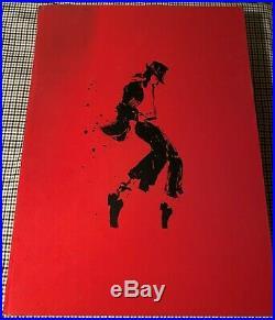 1st Edition Official Michael Jackson OPUS Book & glove in original box RARE