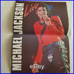 3x Ultra Rare, Authentic Michael Jackson Tour Books Including The Rare Japanese