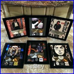 6 VERY RARE! Michael Jackson Million Record Sales Music Award Disc LP Vinyl