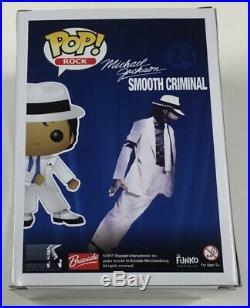 Authentic Michael Jackson Smooth Criminal Vaulted / Retired Funko Pop Rare