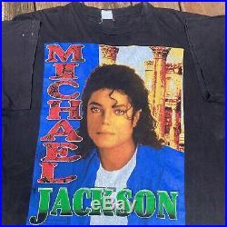 Bootleg Rap Tee Michael Jackson Vintage 90s T Shirt XL Single Stitch Rare
