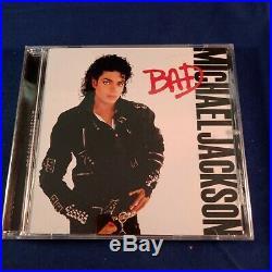 CD Michael Jackson Bad with Bonus Track Todo Mi Amor Eres Ru Super Rare