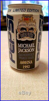 Extremely Rare In Great Condition Can Pepsi Michael Jackson