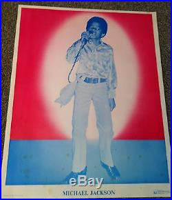 Extremely Rare Young Michael Jackson Poster