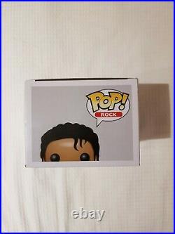 Funko POP! Rock Michael Jackson #26 Authentic MINT Rare Vinyl Figure