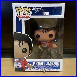 Funko Pop Michael Jackson Beat It #23 Vaulted Rare + Hard Protector