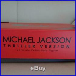 Hot Toys 1/6 Scale Collectible figure Michael Jackson Thriller Version Rare mint