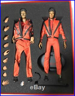Hot Toys 1/6 Scale Michael Jackson Thriller Version Rare Used From Japan F/S