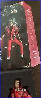 Hot Toys Michael Jackson Thriller Version 1/6 Figure Complete Rare U. S. Seller