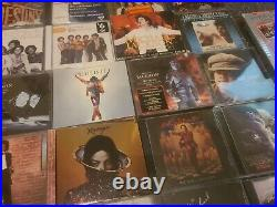 Huge MICHAEL JACKSON 5 cd Dvd Lot rare the Jackson's