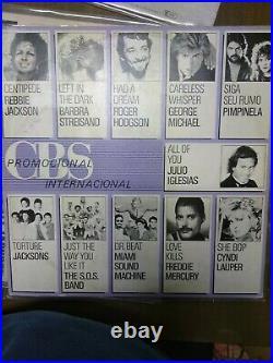 Lot Picture Disc Michael Jackson très rare promo brasil queen télé 7 jours 3xCBS
