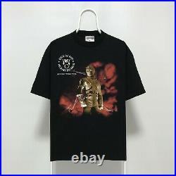 MICHAEL JACKSON 1996 Vintage T-Shirt Band Tee 90s Rare King of Pop HIStory Tour