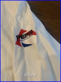 MICHAEL JACKSON BAD Tour 1988 Jacket Pepsi Mega Rare! Size M Some Yellowing
