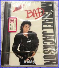 MICHAEL JACKSON Bad MD MiniDisc Music Album VERY RARE SEALED MINT