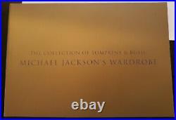 MICHAEL JACKSON Gold Book Catalogue TOMPKINS & BUSH PROMO IN STORE RARE PHOTOS