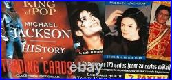 MICHAEL JACKSON OFFICIAL PANINI TRADING CARDS HIStory 1995-96 BOX UNOPENED RARE