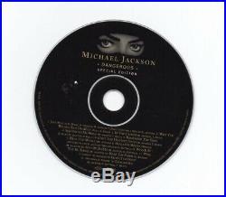 MICHAEL JACKSON RARE AUTOGRAPHED SIGNED DANGEROUS CD With LOVE INSCRIPTION
