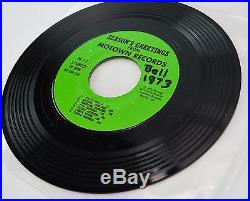 MICHAEL JACKSON RARE PROMO 1973 45 Vinyl Season Greetings Motown Record