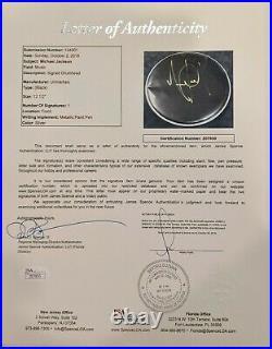 MICHAEL JACKSON RARE Signed Autograph Drumhead JSA LOA