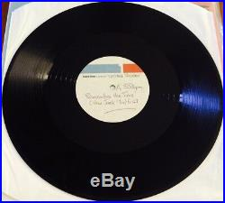 MICHAEL JACKSON Remember The Time RARE 12 ACETATE DJ PROMO STUDIO ARCHIVE COPY