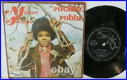 MICHAEL JACKSON Rockin Robin EP RARE Tamla Motown AUSTRALIA 7
