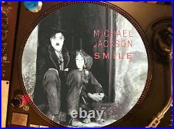 MICHAEL JACKSON SMILE 12 ULTRA RARE LP PROMO Charlie Chaplin