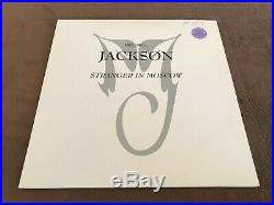 MICHAEL JACKSON Stranger in moscow mixes by HANI 2x12'' NETHERLANDS RARE