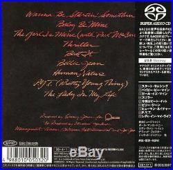 MICHAEL JACKSON THRILLER JAPAN SACD Collector's item Rare