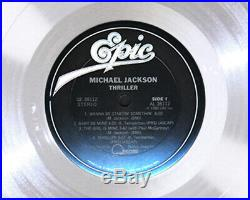 MICHAEL JACKSON THRILLER LP Record Award rare cd disc collectible gift