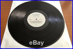 MICHAEL JACKSON They Don't Really Care About Us RARE 12 ACETATE PROMO SINGLE