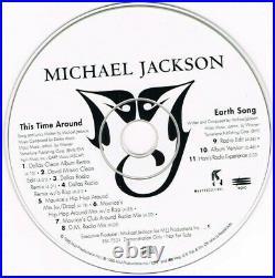 MICHAEL JACKSON This Time Around/Earth Song RARE 11 Track Rmx Promo CD B. I. G