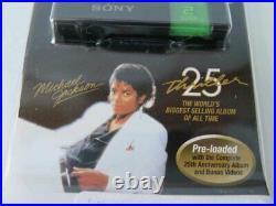 MICHAEL JACKSON Thriller 25 MP3 2GB Sony USB Drive Rare by SONY SEALED