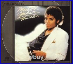 MICHAEL JACKSON Thriller RARE OUT OF PRINT SACD SUPER AUDIO DISC SEALED