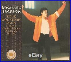MICHAEL JACKSON Tour Souvenir Pack 4CD Box RARE