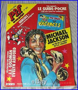 MICHAEL JACKSON VERY RARE 1984 PIF COMICS magazine