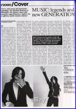 MIchael Jackson RARE L'Uomo Vogue Bruce Weber October 2007 Fashion Magazine NM