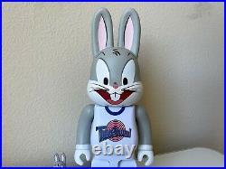 Medicom Rabbrick Bearbrick Space Jam Bugs Bunny 100% 400% Be@rbrick Set Rare HTF