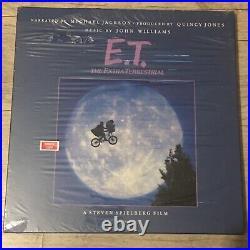 Michael Jackson 12 LP E. T. STORYBOOK Rare SAMPLE COPY Mint Scelled! PROMO