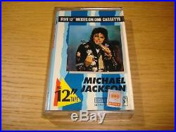 Michael Jackson 17 x Cassette Single Album The 12 Mixes Thailand Tape MEGA RARE