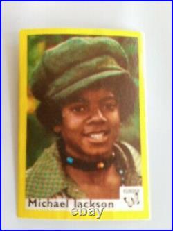 Michael Jackson 1974 Vlinder Match Box Card SUPER RARE RC Rookie