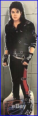 Michael Jackson 1987 Life Size Pepsi Retail Store Standee Display! Very Rare! K1